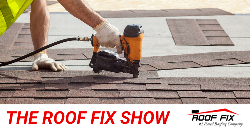 the roof fix show banner